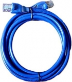 UTP kabel Patch RJ45 2m modrý cat5e