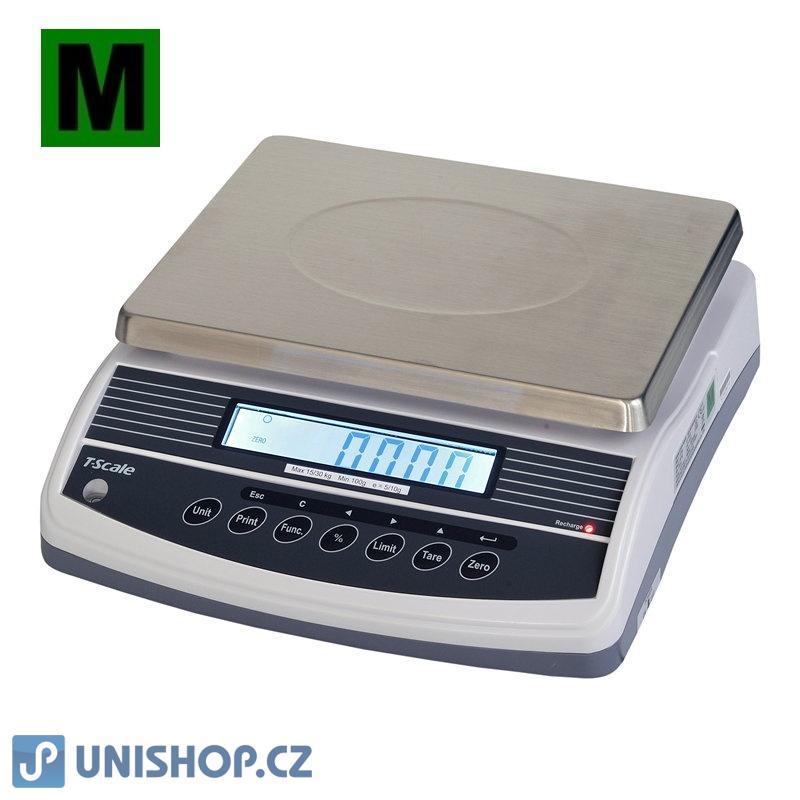 Váha gastro 15/30kg, 5/10g, TSCALE QHW