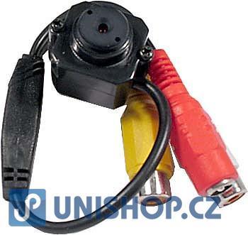 "Minikamera color CMOS 1/3"" PAL-CCIR,20x20x14mm; včetně zdroje"