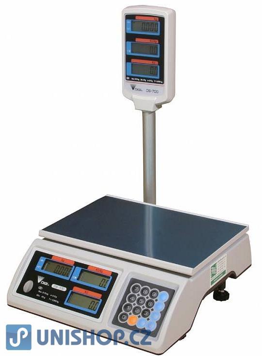 Obchodní váha DIGI DS 700 P