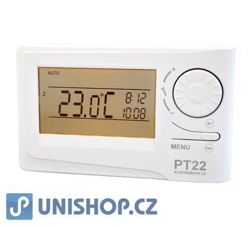 PT22 prostorový regulátor teploty - termostat