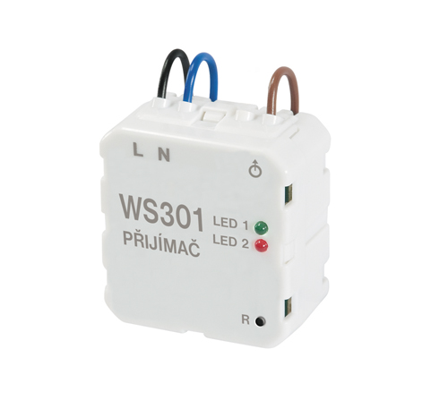 WS301 - Přijímač do instal.krabice ČASOVAČ