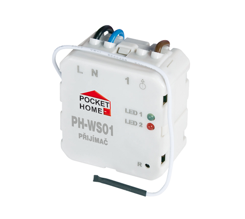 PH-WS01 - Přijímač pod vypínač