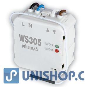 WS305 - Přijímač pro žaluzie, vrata a rolety