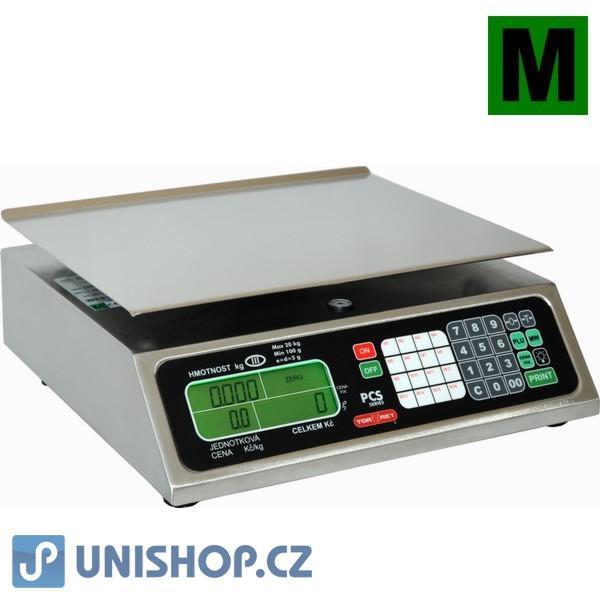 Váha obchodní pultová do 20kg, PCS-20 (RS1-20)