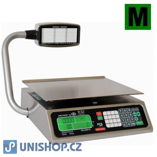 Váha obchodní pultová do 20kg, PCS-20T (RS1-20T)