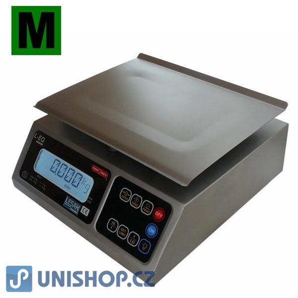 Nerezová OBCHODNÍ váha do 4kg/1g, LEQ-4 (KS1-4)