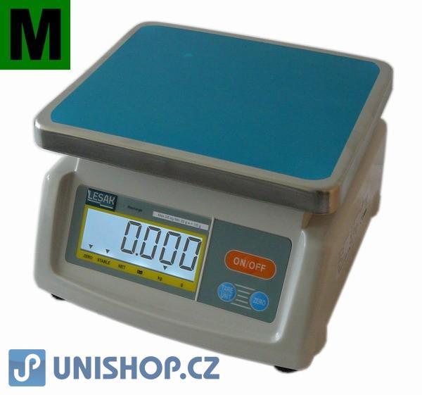 Obchodní váha do 6kg, dva displeje, TST28-6D
