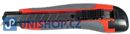 Fotografie Nůž ulamovací EXTOL Premium 8855022 - s kovovým vedením, 18 mm