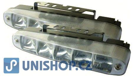 Světla pro denní svícení DRL16-1W 5xLED 12/24V