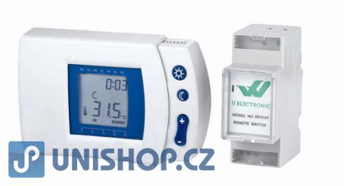 RF-510T Bezdrátový digitální programovatelný termostat