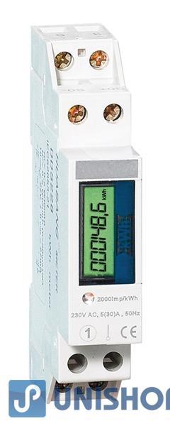 Elektroměr 1F na DIN lištu jednofázový T228 digitální