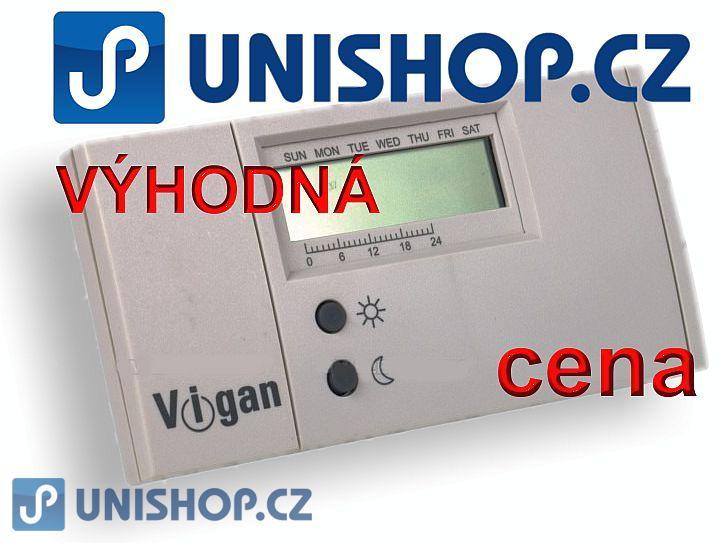 Pokojový termostat s týdenním programem VIGAN VDT 001