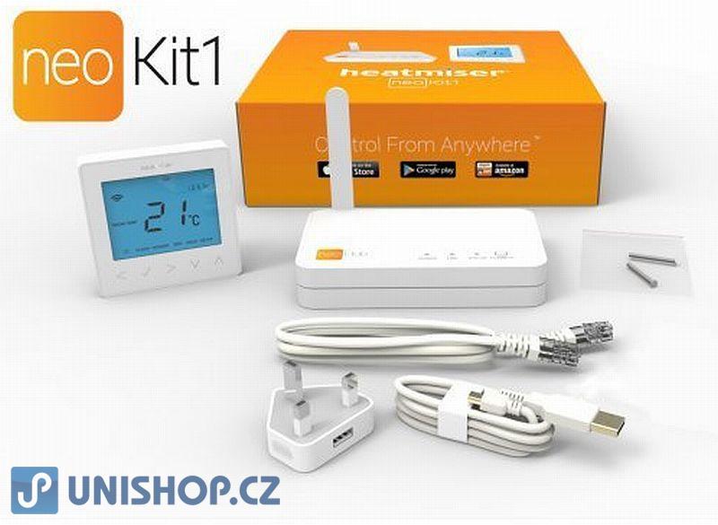 Pokojový termostat WiFi týdenní termostat neoKit termostat + HUB