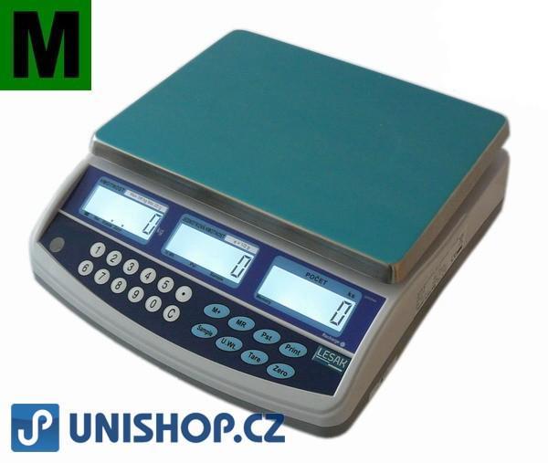 Počítací váha TSCQHC 6kg se zákaznickým displejem